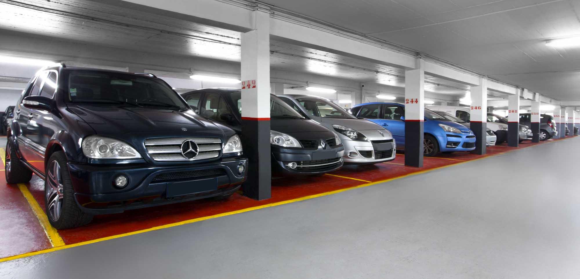 Location parking Nantes : beaucoup de voitures