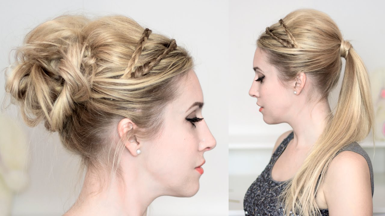 Comment Faire Un Chignon Simple Et Rapide