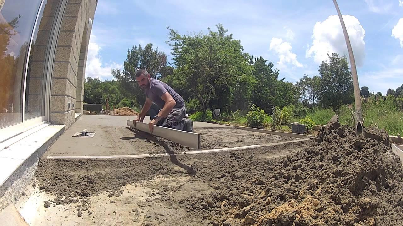 comment faire une chape cool of a concrete slab with comment faire une chape excellent si vous. Black Bedroom Furniture Sets. Home Design Ideas